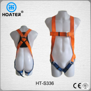 30kn Back Support 3-Point Safety Belt Construction Harness