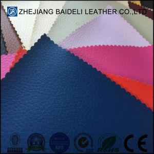 Abrasion Resistant Raw Materials Leather for Sofa Upholstery pictures & photos