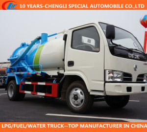 Dongfeng 4*2 Sewage Suction Truck with Vacuum Pump pictures & photos