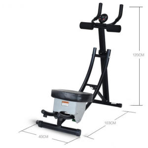 Home Use New Design Steel Ab Core Fitness Ab Coaster with Handle Bar in Sale