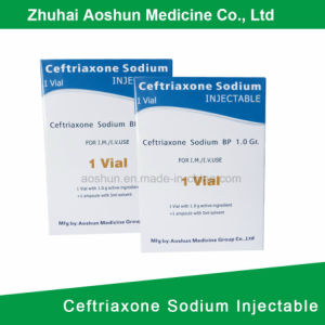 Ceftriaxone Sodium Injectable Antibiotic Package pictures & photos