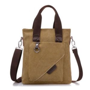 Vertical Retro Canvas Messenger Bag Courier Bag Briefcase pictures & photos