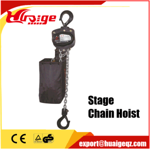 Stage Hoist Elevator Electric Chain Hoist Capacity 0.25-2ton pictures & photos