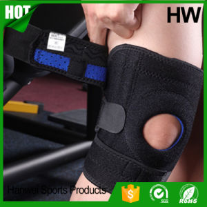 Top Quality Sport Compression Patella Wrap Safety Knee Sleeve (HW-KS003) pictures & photos
