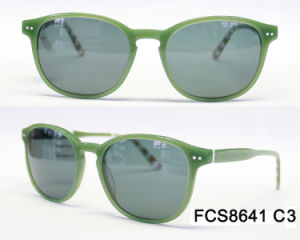 Oval Shape High Quality Acetate with Ce for Lady Eyewear Sunglasses pictures & photos