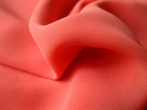 100% Polyester Chiffon Fabric for Women Dress pictures & photos