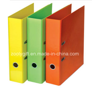 A4 / FC Solid Color Printed Paper Lever Arch File pictures & photos