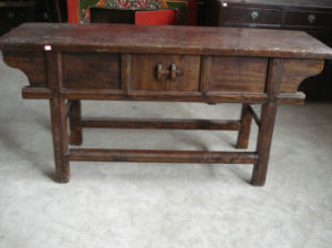 Antique Furniture Old Console Table (LWC259) pictures & photos
