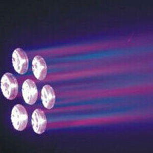 7PCS 15W LED Wash Moving Head