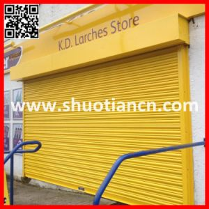 Motorized Shutter Aluminum Rolling up Door (ST-002) pictures & photos