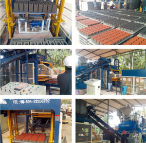 Board-Free Palletization Type Cement Block Making pictures & photos