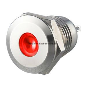 12mm Vandal Resistant Pilot Lamp (P12-P-N-D) pictures & photos