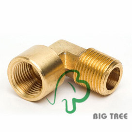 Brass Elbow Threaded Pipe Fitting/Connector pictures & photos