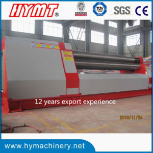 W11H-30X4000 High quanlity 3 rollers Automatic plate bending rolling machine pictures & photos