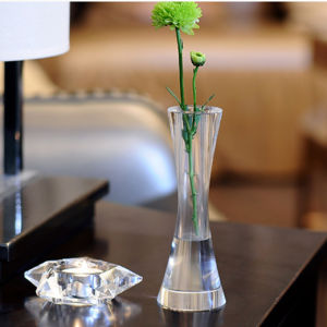 Original Crystal Glass Vase for Christmas Decoration pictures & photos