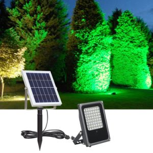 Wholesale Price 56LED Color Changing Solar Floodlight with Remote Control