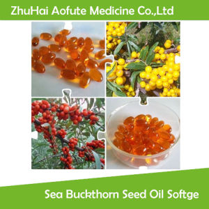 Natural Pure Sea Buckthorn Seed Oil Softgel pictures & photos