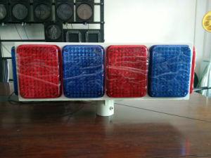Big Solar LED Flash Warning Light/Traffic Light