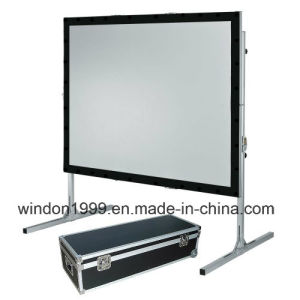 300 Inch Large Fast Fold Projection Screen/Fsat Fold Screen pictures & photos