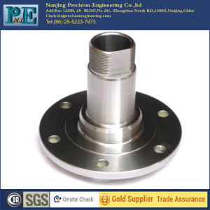 2016 New Custom CNC Machining Threaded Tube Flange