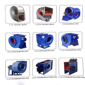 Yuton High Pressure Single Inlet Centrifugal Fans pictures & photos