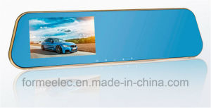 4.3 Inch Dual Lens Rearview Mirror Car DVR pictures & photos