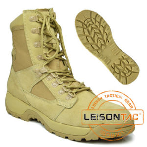 Military Boots of Cowhide Full Grain Leather /Suitable for Any Time pictures & photos