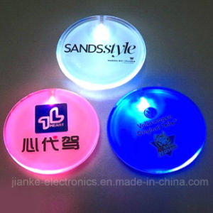 Promotional LED Flashing Souvenir Badges with Customzied Logo (3569)