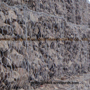 Anti-Corrosion Gabion Wire Mesh / Galfan Gabion Box pictures & photos