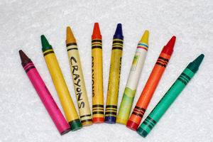 Pigment Color for Crayon/Wax Using