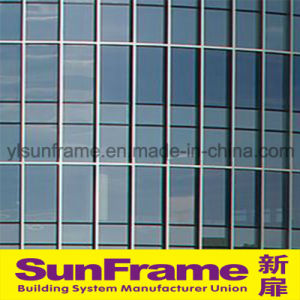 Aluminium Glazing United Curtain Wall System in Great Waterproof pictures & photos