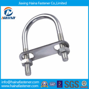 Stainless Steel Ss304 Ss316 U Bent Bolt with Nut pictures & photos