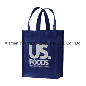 Custom Printed Reusable Non Woven Promotional Tote Bag pictures & photos