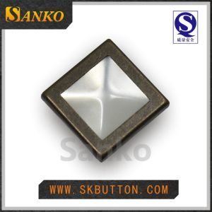 Square Shape Prong Type Snap Button