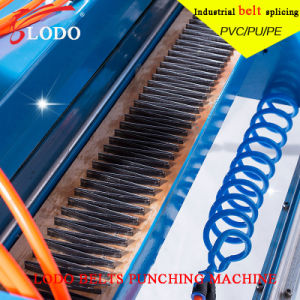 Wi-Wide Punching Design Industrial PVC Belt Joint Equipment Punching Machine pictures & photos