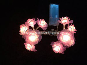 china cheap beautiful led string rose christmas lights