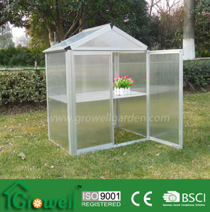 Mini Greenhouse with PC Panels and Aluminium Frames (MB323) pictures & photos