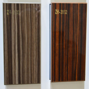 Zebra Wooden UV MDF (ZH-3932) pictures & photos