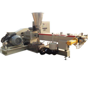 PU PVC TPR Twin Screw Extruder for Plastic Granules Making