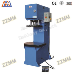 PLC C-Frame Single Column Hydraulic Press for Electrical Components Press Mounting (HP-100C) pictures & photos