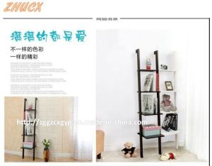 Wooden Bookshelf Form Home (CX-BS003) pictures & photos