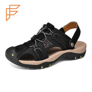 5eb49981dfd9 China Leather Sandal
