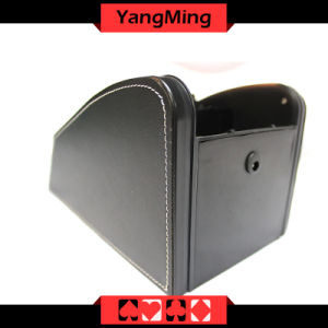 2 Deck Cards / Casino Dealer Card Shoes Intelligent Black Color Gambling Games Dealer Shoes Can Send Cards Ym - Ds05 pictures & photos