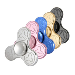 Finger Spinner with Pattern Top Quality EDC Fidget Hand Spinner