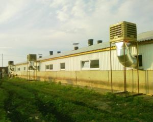 18000m3/H Roof Mounted Strong Industrial Air Cooler Air Conditioner Bangladesh