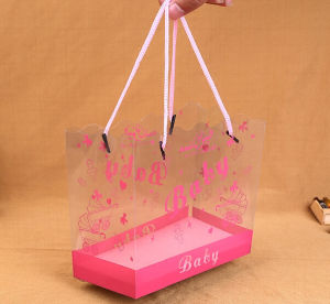 2016 New PVC Plastic Portable Gift Bag