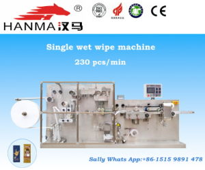 Processing Machinery Wet Wipes Making and Packing Line (HM- P200)