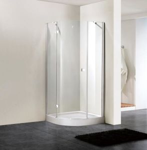 Shower Enclosure 8mm Glass Quadrant Hinge Door Bathroom (BN-HDSQD80) pictures & photos