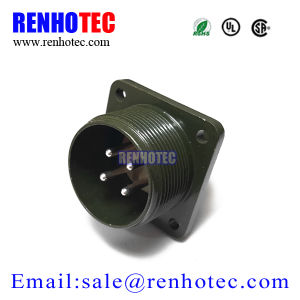 Military Aviation Connector Ms5015 Series 4 Pin Flange Ms3102 Panel Socket pictures & photos