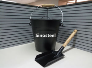 Ash Bucket and Shovel with Lid pictures & photos